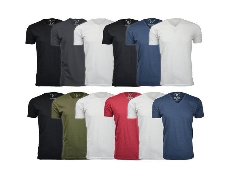 Ultra Soft Semi-fitted T-Shirt 3-Pack