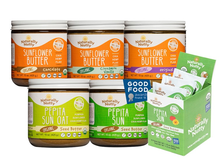 Naturally Nutty Seed Butter Sampler (6)