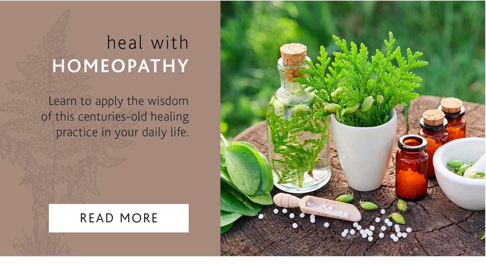 HEAL WITH HOMEOPATHY