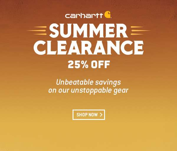 981bd7f49c7 Carhartt: Summer clearance: 25% off gear for your Carhartt family ...