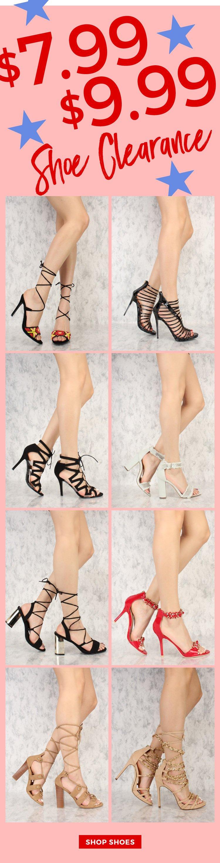 $7.99 Heels. Shop Now