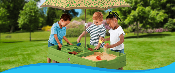 Sand & Water Tables range