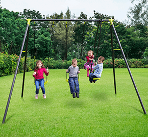 Apatou 3 Unit Swing Set