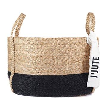 J'Jute Maya Large Tideline Basket $300