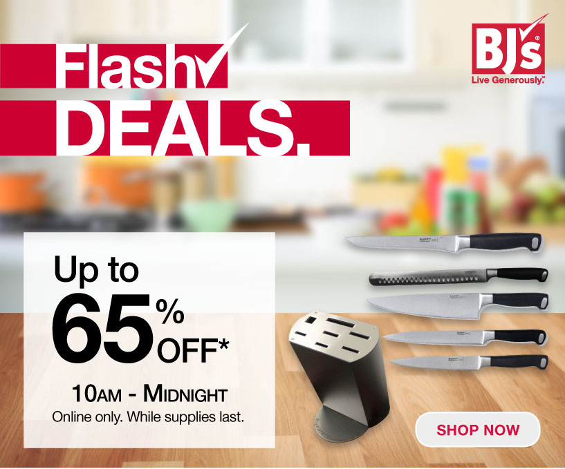 BJs Wholesale Club: Final Hours: Flash Deals end at MIDNIGHT | Milled