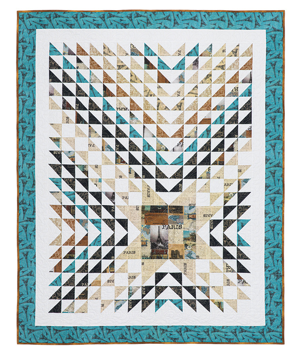 Heart of Paris Quilt