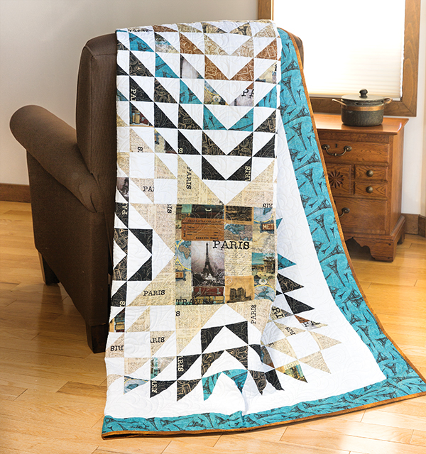 Heart of Paris Quilt Kit