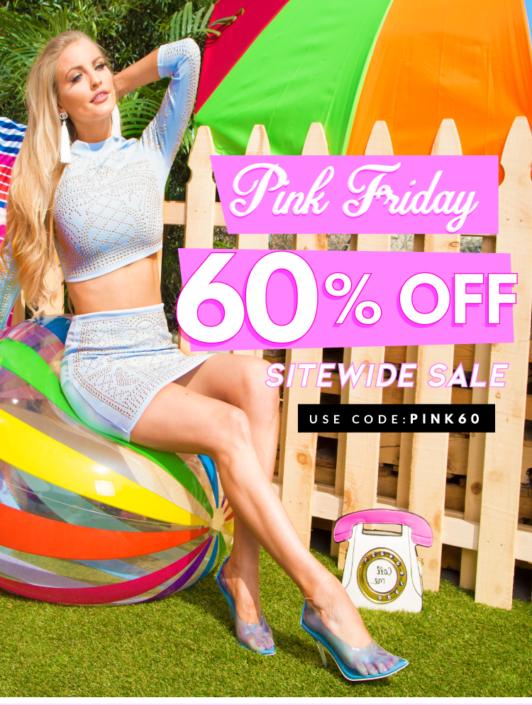 Pink Friday Sale 60% off