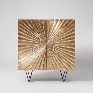 Ziggy brass cabinet