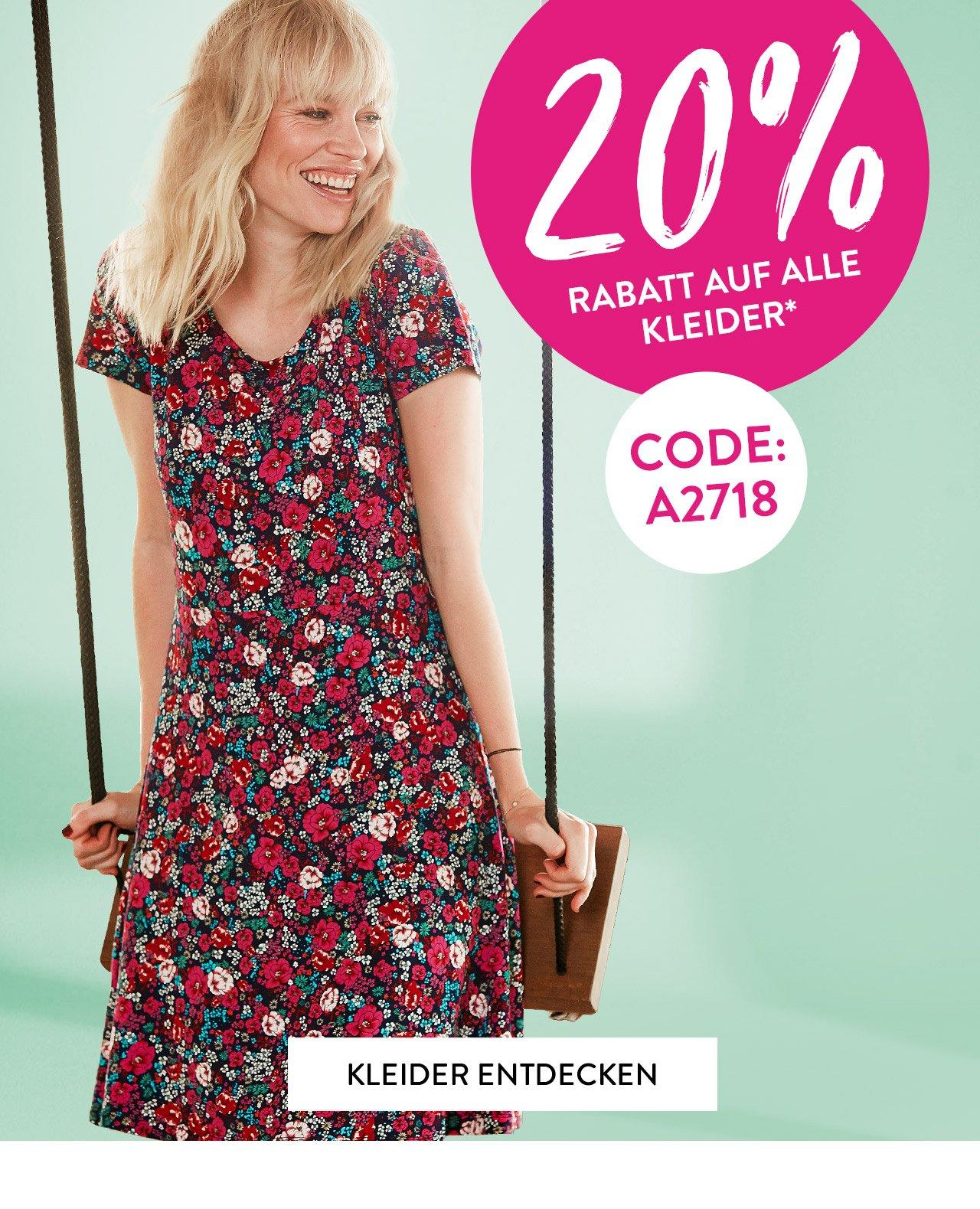 adler moden: 👗 20% auf alle kleider, lieber kunde! | milled