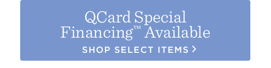 QCard Special Financing(TM) Available