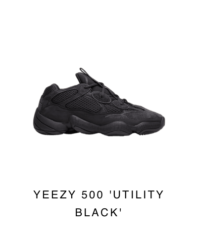 big sale 59f39 1fe42 GOAT: Just in: Yeezy 500 'Utility Black' | Milled