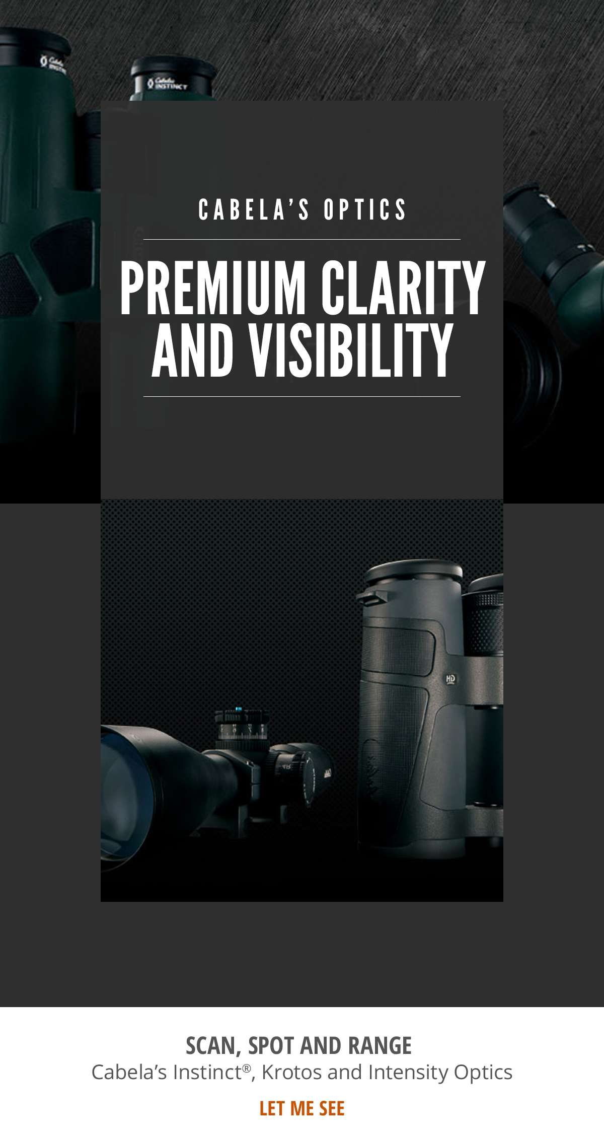 Cabela's Optics - Premium Clarity and Visibility - Shop Now