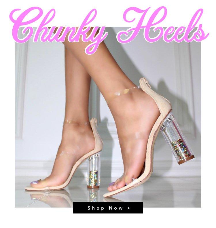 Shop Chunky Heels