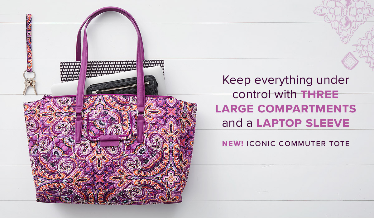 Iconic Commuter Tote in Dream Tapestry
