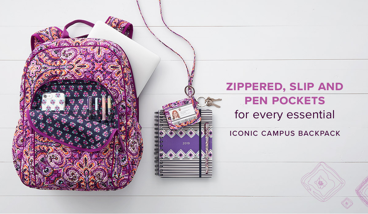 Iconic Campus Backpack in Dream Tapestry