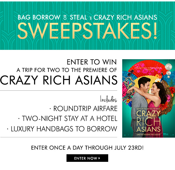 064cea69e2c Bag Borrow or Steal: Starts NOW! Crazy Rich Asians x Bag Borrow or ...