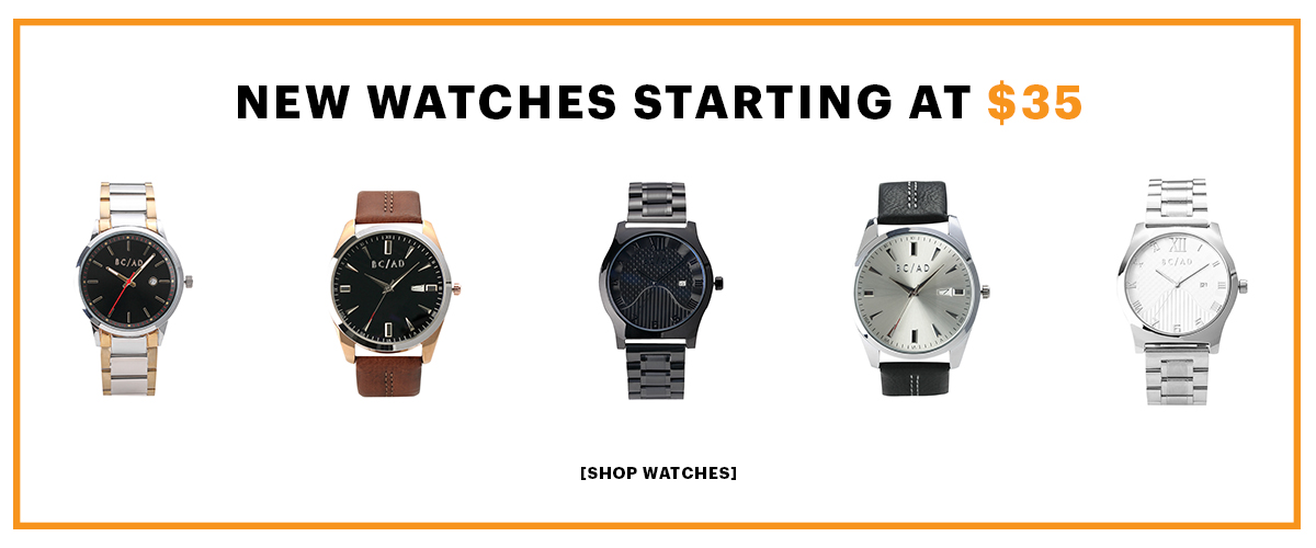 Brand new watches, starting at $35. This seems too good to be true