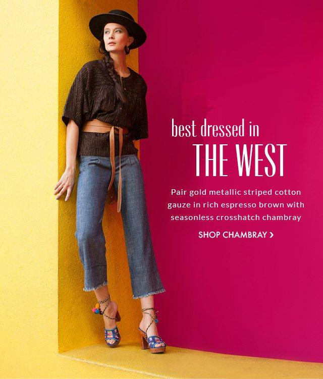 Shop Chambray