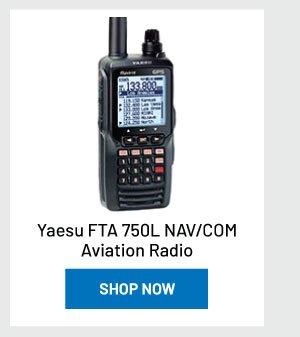 Yaesu FTA 750L NAV/COM Aviation Radio