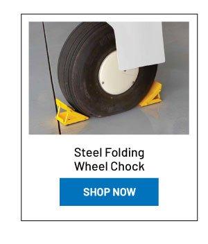 Steel Folding Wheel Chock (one pair)
