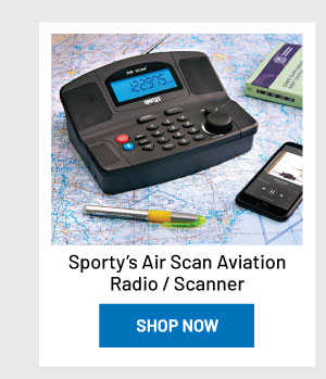 Sporty's Air Scan Aviation Radio / Scanner