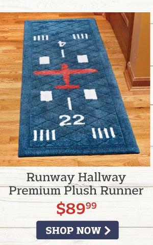 Runway Hallway Premium Plush Runner
