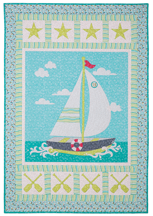 Chickasaw Lake Quilt Pattern