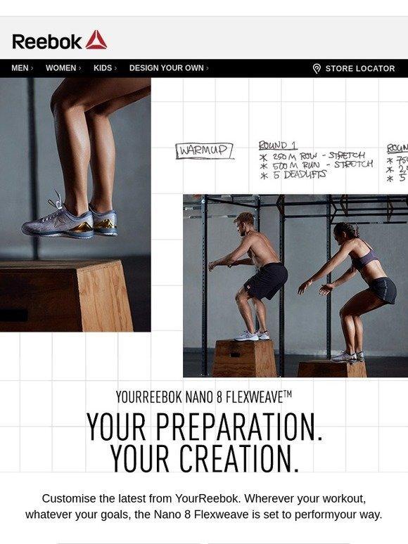 workout \u0026 customise YourReebok Nano