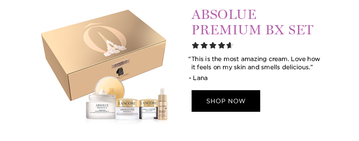 ABSOLUE PREMIUM BX SET  'This is the most amazing cream. Love how it feels on my skin and smells delicious.' - Lana  SHOP NOW