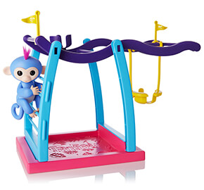 WowWee Fingerlings Monkey Bar and Swing Playset