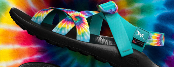4174bcde64e Share the good vibes with the limited edition Tie Dye Collection. These  bold Zs display an explosion of color for your far-out style.