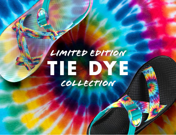 Chaco: New Limited Edition Tie Dye Z's