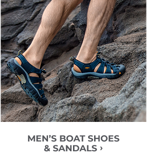 Men's Boat Shoes and Sandals