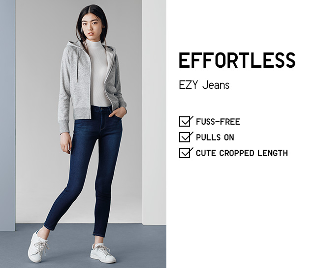 WOMEN EFFORTLESS EZY JEANS