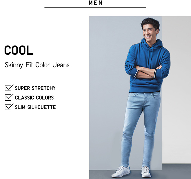 COOL SKINNY FIT COLOR JEANS
