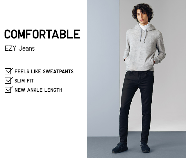 MEN COMFORTABLE EZY JEANS
