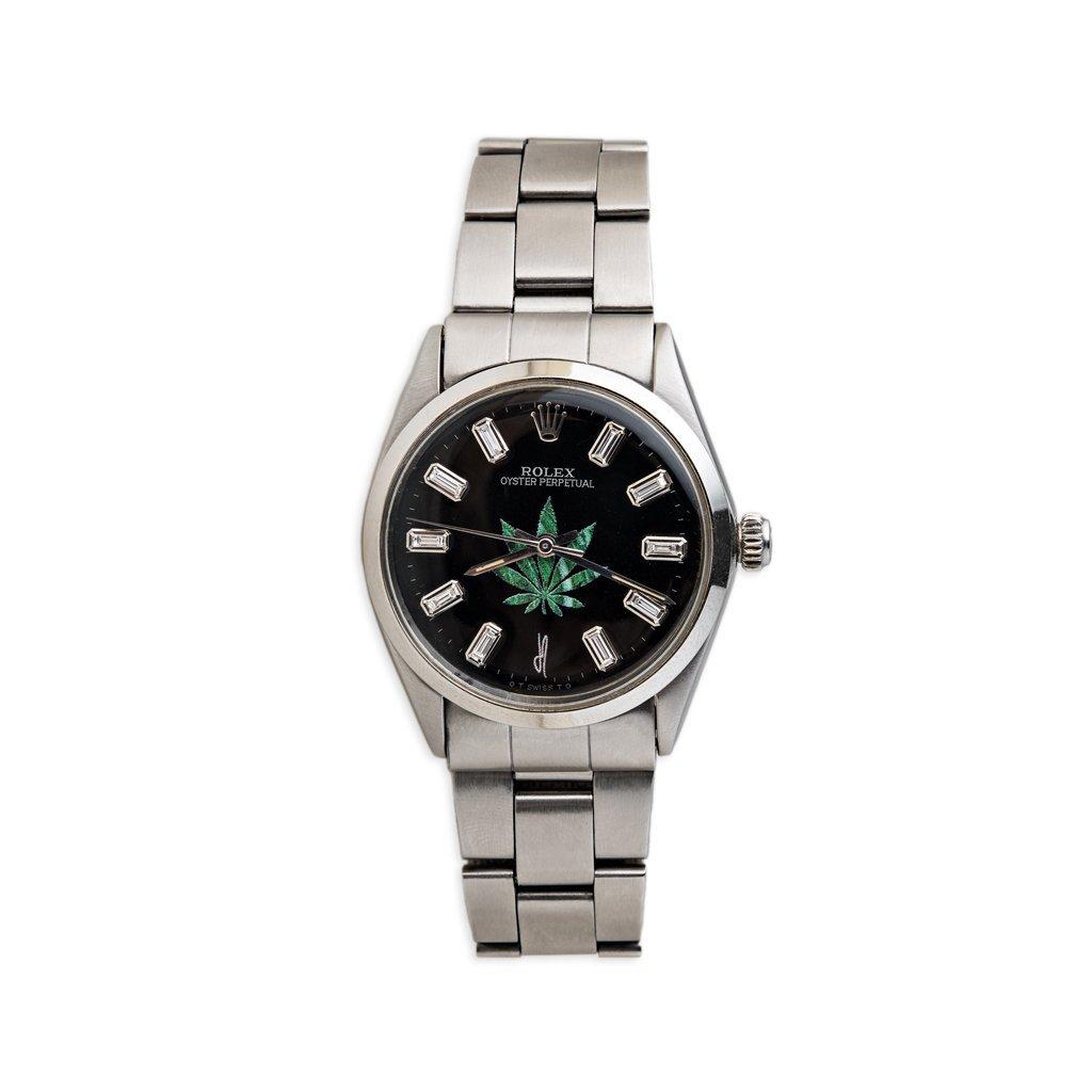 Image of Black Sweet Leaf Vintage Rolex