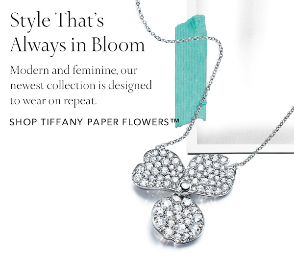 Tiffany New Everyday Favorites Tiffany Paper Flowers Milled