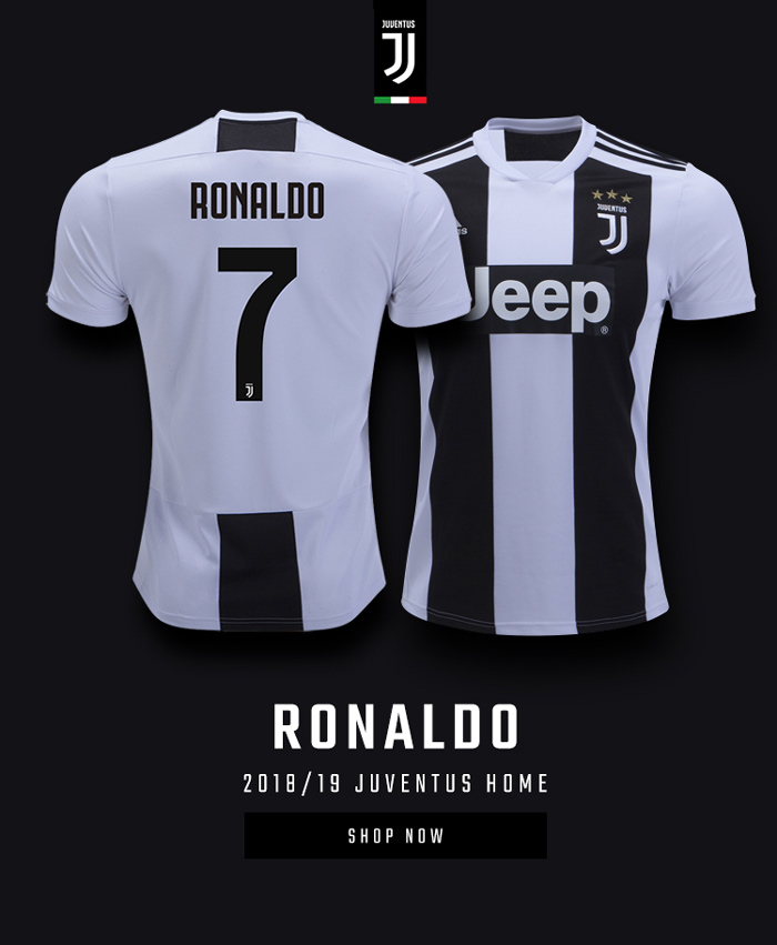 new concept d89f1 ac64c World Soccer Shop: Cristiano Ronaldo to Juventus! Order Your ...