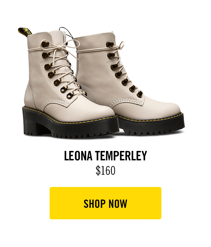 better price wholesale outlet unique style Dr. Martens: The Leona in Bone is back | Milled
