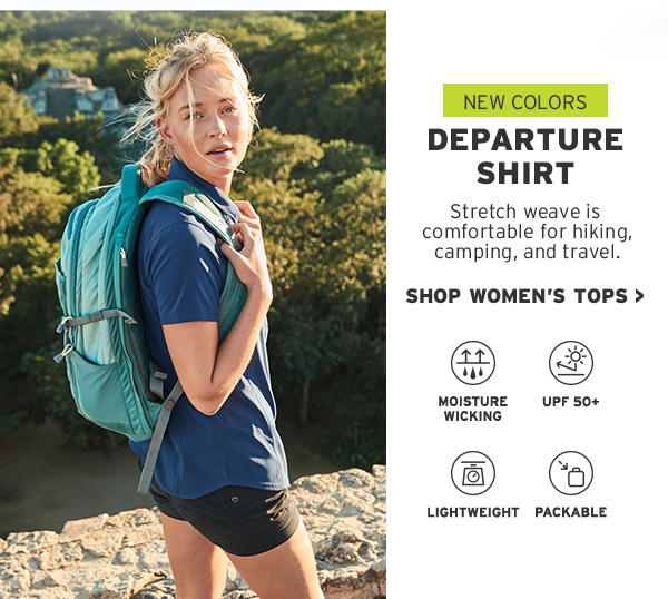SHOP WOMEN'S DEPARTURE