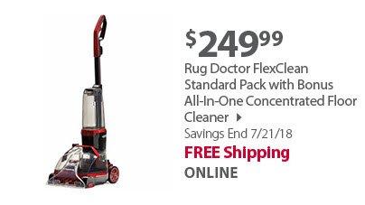 Rug Doctor FlexClean Standard Pack