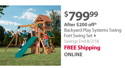 Backyard Play Systems Fort