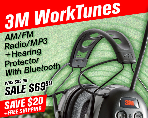 22bc34c4863 3M Worktunes AM/FM Radio/MP3 + Hearing Protector With Bluetooth - On Sale