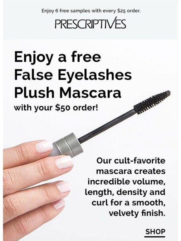Prescriptives Take Your Lashes To New Heights Free False Eyelashes