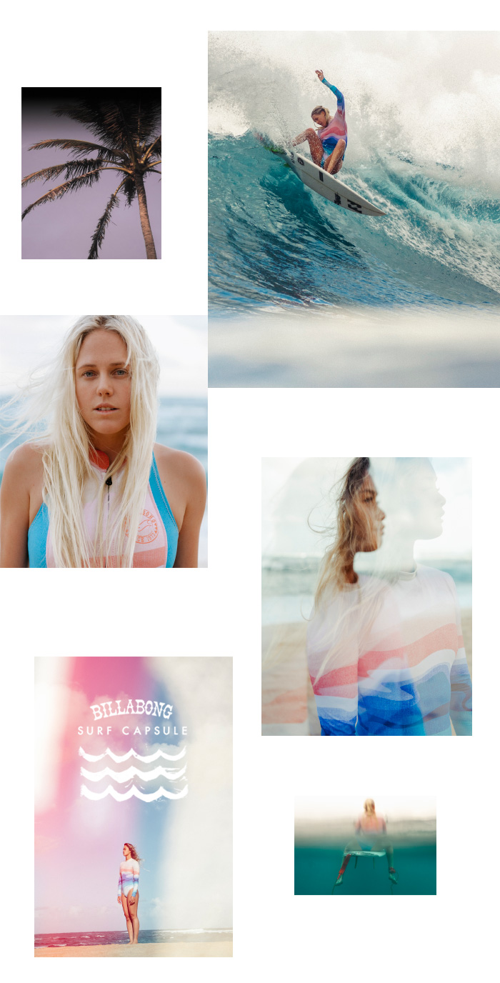 Billabong: Swell lines in our sea trip Surf Capsule print