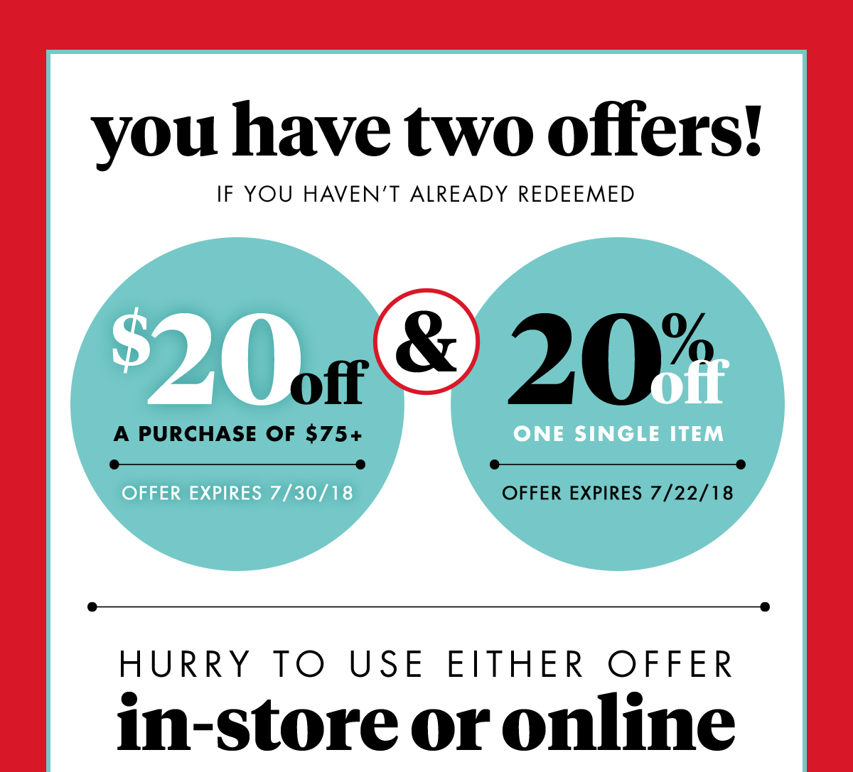 Bed Bath And Beyond Your 20 Off 75 Or 20 Coupon Is