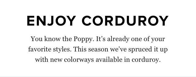 Enjoy Corduroy