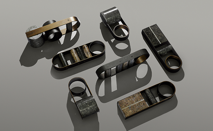'Elementi dumbbells, by Davide G Aquini and Lundhs Real Stone